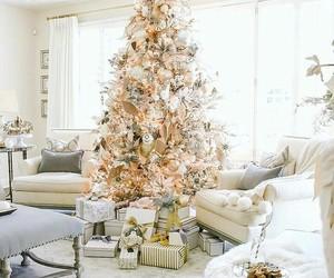beautiful, christmas tree, and cozy image