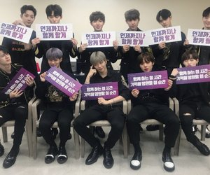 wanna one, daniel, and jihoon image