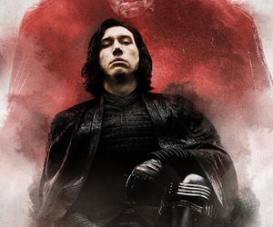 kylo ren, star wars, and the last jedi image