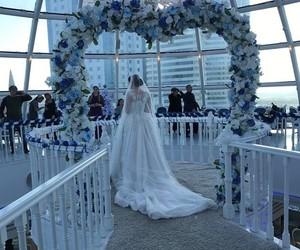 amazing, blue, and dress image