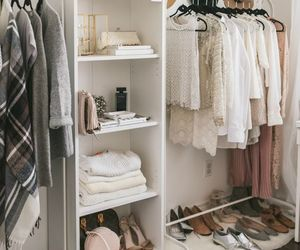 closet, home, and decor image