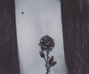 black, tatuaggio, and ink image