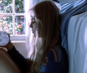 white oleander, girl, and beautiful image