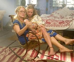 mamma mia, meryl streep, and amanda seyfried image