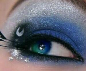 makeup, MLP, and princess luna image