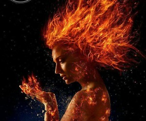sophie turner, dark phoenix, and x-men image
