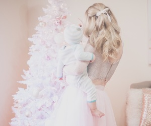 blonde, christmas, and december image