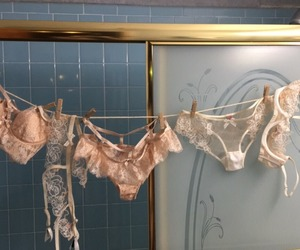 aesthetic, bathroom, and lingerie image