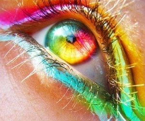 eyes, eye, and color image