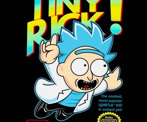 rick, rick and morty, and tiny rick image