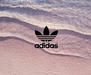 adidas, beach, and black image