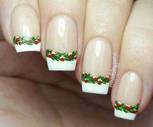 nail ideas, christmas nail ideas, and holiday nails image