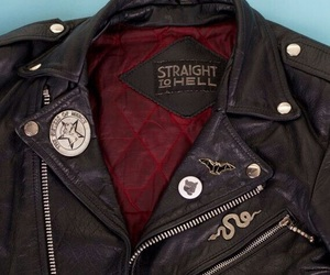aesthetic, leather, and grunge image