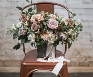 bride, flowers, and ideas image