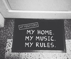 funny, music, and home image