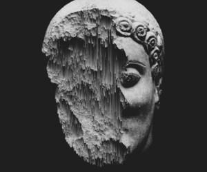 art, sculpture, and black image