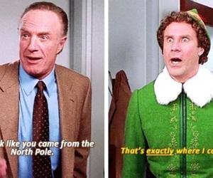 christmas, elf, and movie image