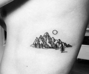 tattoo and mountain image