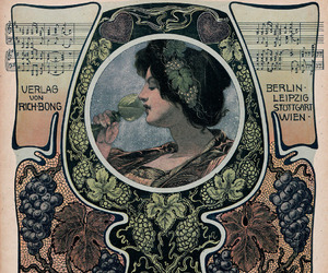 Art Nouveau, cover art, and Magazine Covers image