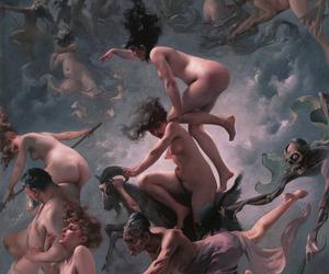 Luis Ricardo Falero, walpurgisnacht, and walpurgis night image