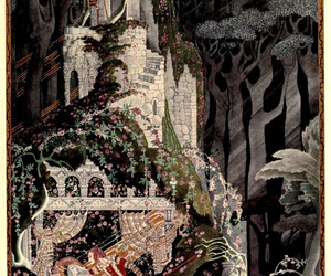 kay nielsen, fantasy, and illustration image