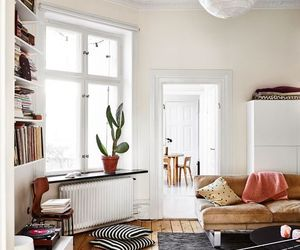 books, cozy, and living room image