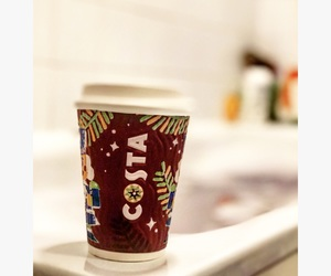 coffee, winter, and costacoffee image