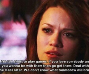 one tree hill, quotes, and life image
