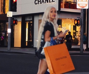 shopping and saweetie image