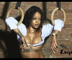 photoshoot, esquire, and rihanna image