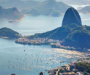 city, brazil, and beach image