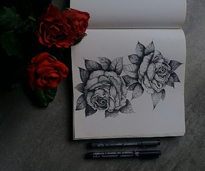 aesthetic, drawing, and grunge image