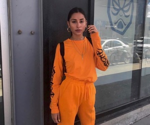 orange and outfit image