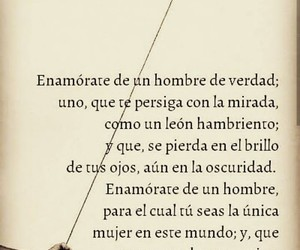 love, frases, and enamorate image