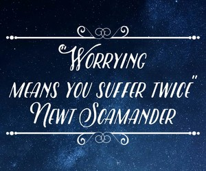 quote and newt scamander image