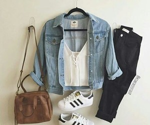 gurl, outfit, and jeans image