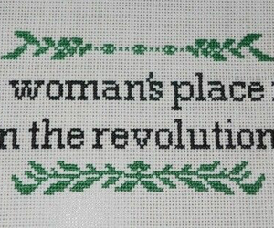 revolution, feminism, and feminist image