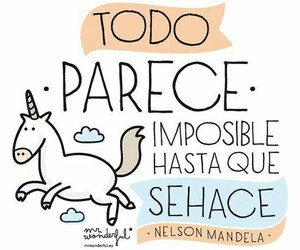 unicorn, imposible, and frases image