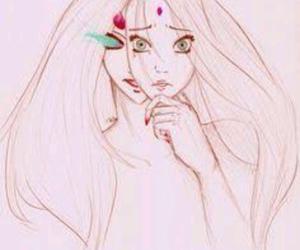 anime, drawing, and haruno sakura image