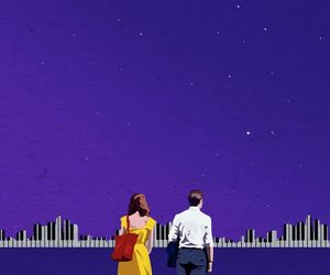 lalaland, wallpaper, and la la land image