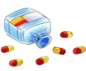 pills and @bitchaesthetic image