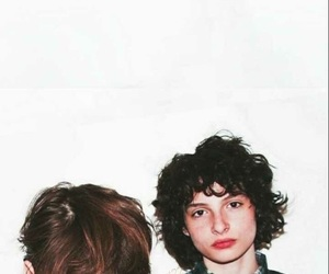 finn wolfhard, stranger things, and noah schnapp image