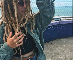 dread, dreadlocks, and rastas image