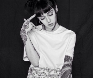 hannah pixie snowdon and tattoo image