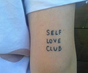 tattoo, selflove, and self love image