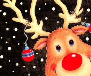 christmas, image, and rodolfo image