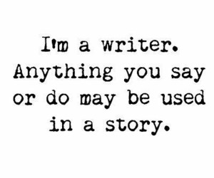 writer, quotes, and story image