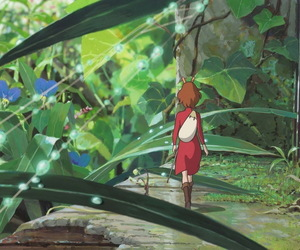 anime, arriety, and garden image