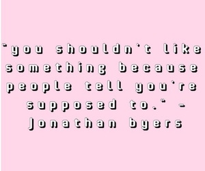 quote, stranger things, and jonathan byers image
