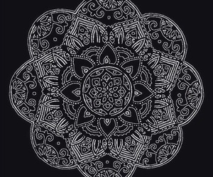 art, background, and mandala image